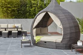 stylish outdoor furniture. Cosy Comfort: An Outdoor Sofa Bed Can Add Extra Element To Your Garden Furniture Stylish E