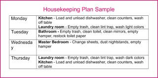 How To Set Up A Housekeeping Plan Home Ever After