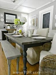 rustoleum weathered grey how to build a farmhouse dining table tutorial on how to build this table using basic pine wood and how to get this awesome paint