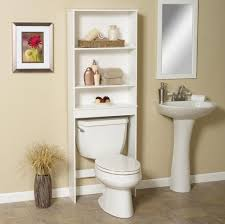 Over The Toilet Bathroom Shelves Bathroom Espresso Over The Toilet Cabinet For Bath Linen