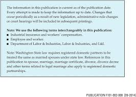 note we use the following terms interchangeably in this publication industrial insurance and workers