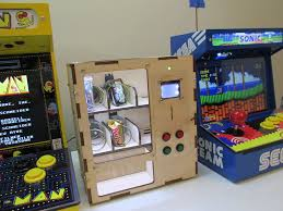 Game Vending Machine Cool DIY Arcade Cabinet Kits More Arduino Vending Machine