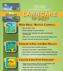 msu extension s lawn care tip sheet advises avoiding fertilization until may