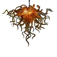 seth parks inspirational lighting designs. Anemone Hand Blown Glass Chandelier Buy The Seth Parks By Shell Fan Light Fixtures Led Ceiling Inspirational Lighting Designs