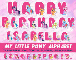 Small Picture My Little Pony Alphabet Alphabet clipart My Little Pony Party