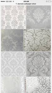 Silver Wallpaper Bedroom 17 Best Ideas About Damask Wallpaper On Pinterest Gold Damask