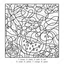 Kleuren Op Nummer Dieren Kleurplaat Vor Kinderen Pertaining To