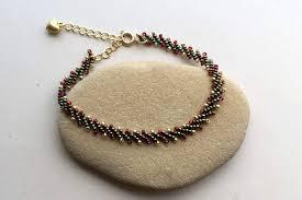 a beaded garland bracelet