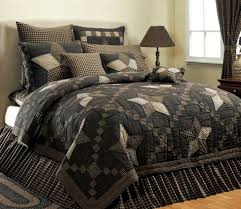 country and primitive bedding quilts farmhouse star bedding by victorian heart country decor