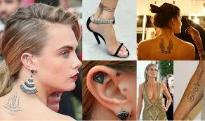 модели с татуировками можно или табу