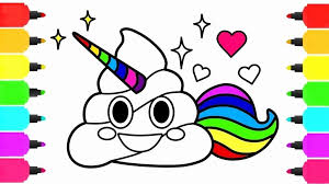 The unicorn emoji first appeared in 2015. Unicorn Emoji Coloring Page Beautiful Poo Colouring Pages At Getdrawings Emoji Coloring Pages Unicorn Emoji Coloring Pages