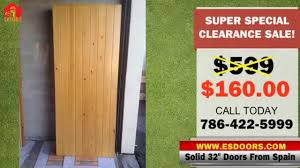 Solid Wood Doors 32 Inches Imported From Spain Below Wholesale! 786 ...