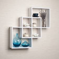 contemporary wall mounted shelves