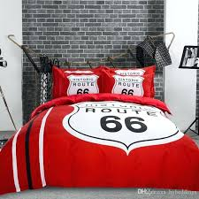 red duvet cover whole historic route bedding set red black duvet covers home textile full red duvet cover