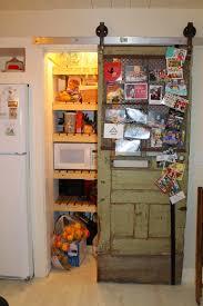 Barn Door In Kitchen Remodelaholic Sliding Barn Door Pantry Makeover With Wood Slat
