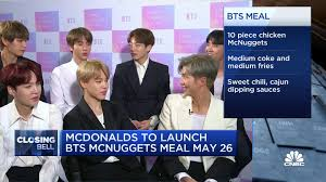 Mcdonald's mexico post about the bts meal. Mcdonald S To Launch Bts Mcnuggets Meal May 26th