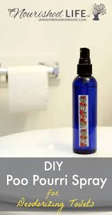 diy poo pourri spray recipe for deodorizing toilets