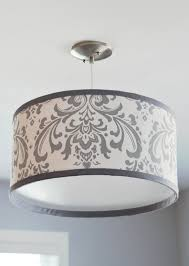 drum lamp shade chandelier diy barrel kit tall white wire frames frame the project archived