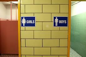 school bathrooms signs. School Bathrooms On Citys Punch List Schoolbook Wnyc Signs