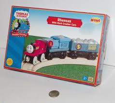 thomas friends train tank engine wooden railway rheneas rock crusher cars nob