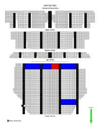 Sfjazz Seating Chart Get The Golden Gate Theater Seating Chart Form