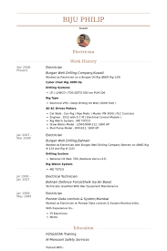 Maintenance Electrician Resume Resume For Electrician