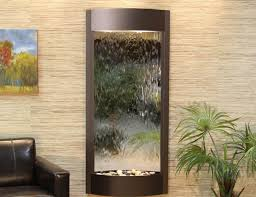 large hanging indoor water fountains