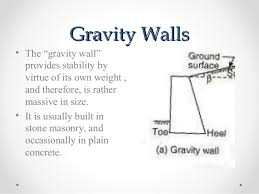 Small Picture Retaining Wall Design Examples Cool Gravity Wall Design Example