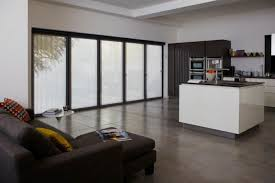 however the cords or pulleys of roller blinds might disrupt the sleek minimal appearance of the doors