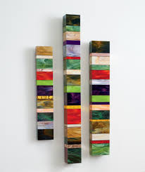 Artful Home Earth Totems By Gerald Davidson Art Glass Wall Sculpture