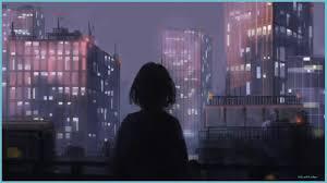 Sad Anime Aesthetic Wallpaper Desktop ...