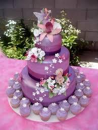Purple Fairy Cake Sugarplum Fairyland Fairy Birthday Cake Cake