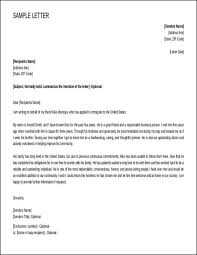 Sample Immigration Reference Letter How To Write A Letter To