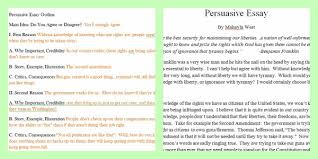 persuasive essay examples high school public release item view larger
