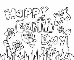 Small Picture Kids Pages Pdf Archives Best Earth Earth Day Coloring Page Day