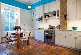 terracotta tiles make their presence felt in the victorian kitchen design cg s design