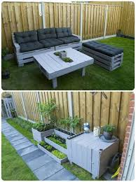 furniture ideas with pallets. Creative Of Pallet Garden Decor Furniture Ideas Pallets And With
