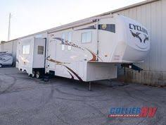 2008 heartland cyclone 4012 rockford il rvt clifieds larry hand 5th wheel toy haulers