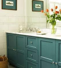 Five Ways To Update A Bathroom Centsational Style Blue Bathroom Vanity Teal Bathroom Painted Vanity Bathroom