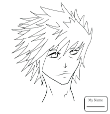 Anime Boy Coloring Pages Character By Manga Chibi Signaturemodeco