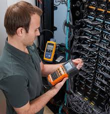 Cable Installation Job Brother Mobile Solutions And Fluke Networks Team Up To