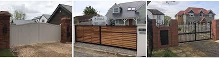 garden gates electric gates by gates and fences uk