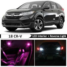 2018 Honda Crv Dome Light Details About Pink Interior Reverse Backup Led Light Package Kit Fit 2017 2018 Honda Crv Cr V