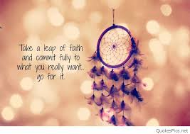 Leap Of Faith Quotes Custom Take A Leap Of Faith And Commit Fully To What You Really Want