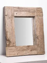 wood mirror frame. Rustic Old Wooden Mirror Frame. Wood Frame