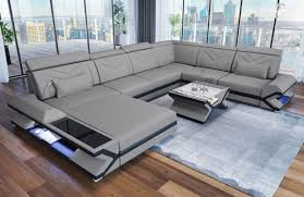 Fabric Design Sofa San Francisco Xl With Led