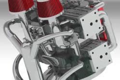 boxer engine diagram d models stl finder boxer engine