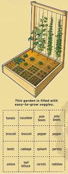 if you want to grow a smaller garden then you might want to consider this method you have one raised garden bed