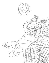 Small Picture HowtoDrawSoccer Free Drawing Of A Soccer Football Goalie 2bw