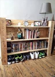 Pallet Kitchen Furniture Pallet Shelf Diy Pallet Entryway Side Table Furniture